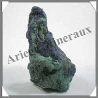 AZURITE MALACHITE - 400 gr - 55x65x110 mm - M017