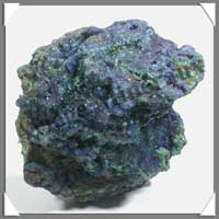 AZURITE MALACHITE - 129 gr - 5x55 mm - M051